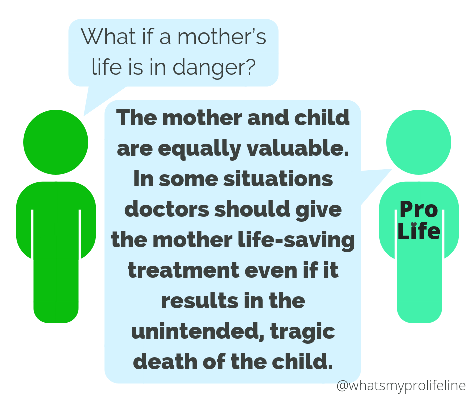 Our Lives Are In Danger Mother With >> Mother And Child Are Equal What S My Pro Life Line