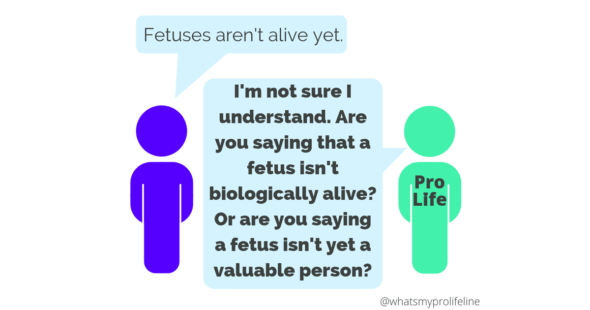 "What Does ""Alive"" Mean? 